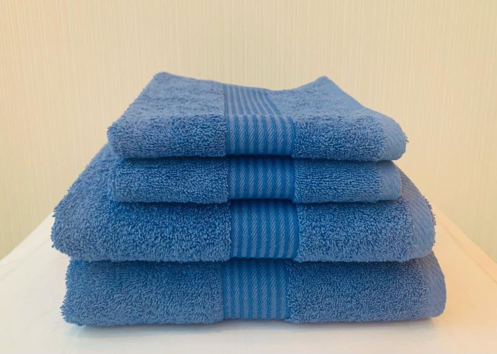 "NEW! - Dickies ""Deluxe"" Bath Towels in Denim Blue Colour"