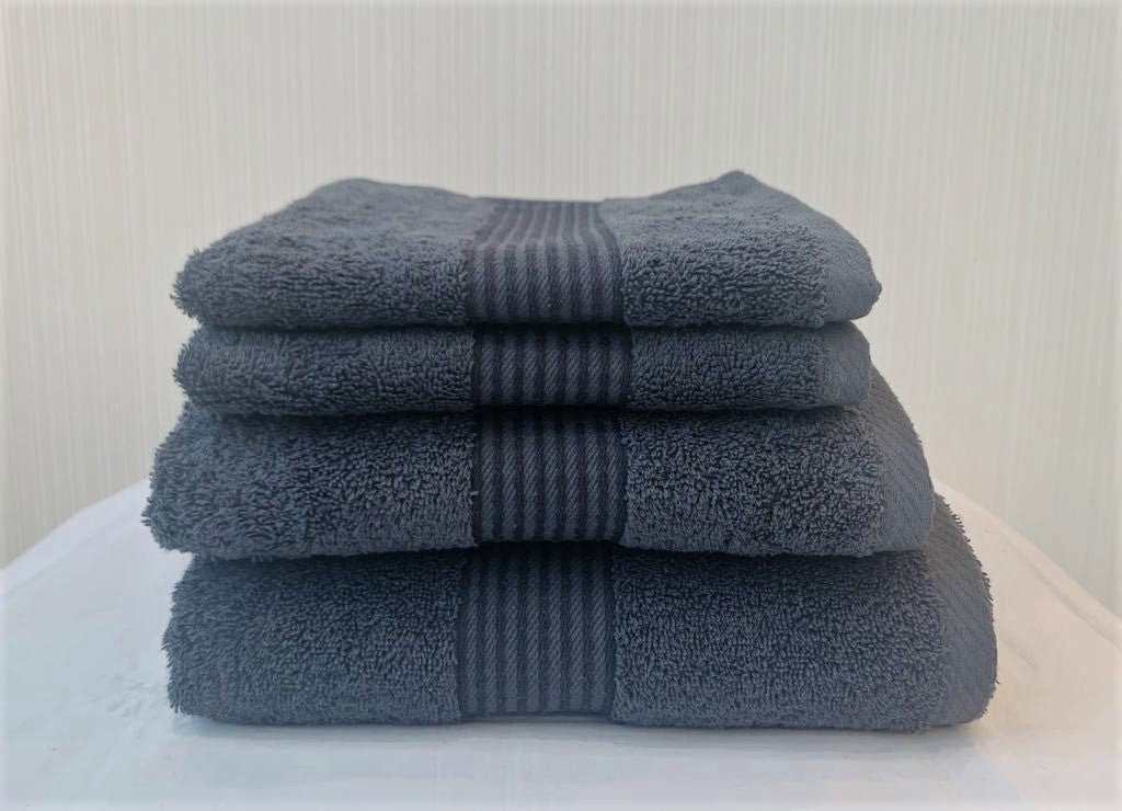"NEW! - Dickies ""Deluxe"" Bath Towels in Slate Colour"