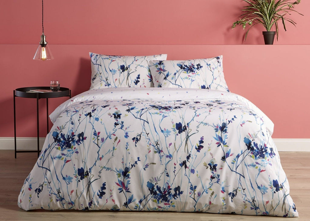 "Living by Christy ""Enzo"" Bed Linen - Blue colour"