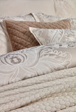 "Christy ""Fairfield"" Bed Linen - Colour Oyster"