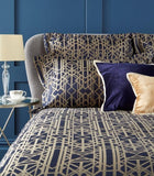 "Christy Premium ""Gatsby"" Bed Linen - Colour Navy"