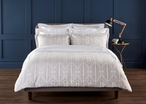 "Christy Premium ""Gatsby"" Comforters in Platinum"