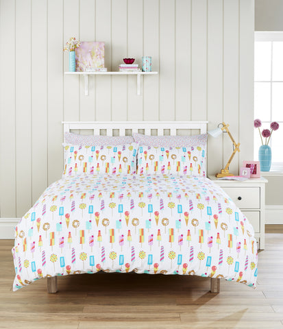 "Humming Bird ""Ice Lollies"" Kids Bed Linen"