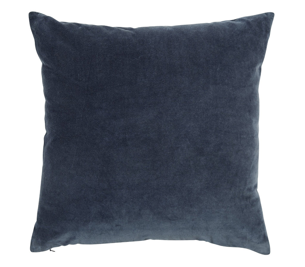 "Christy ""Jaipur"" Square Cushions - Ink Blue"