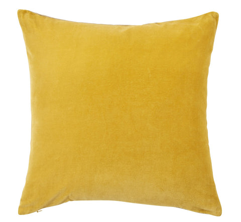 "Christy ""Jaipur"" Square Cushions - Turmeric Gold"