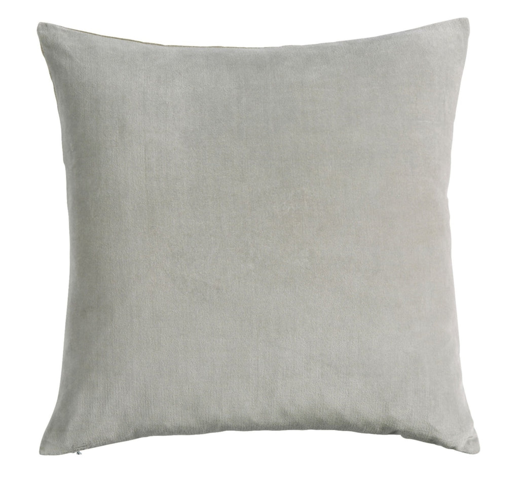 "Christy ""Jaipur"" Square Cushions - Silver"