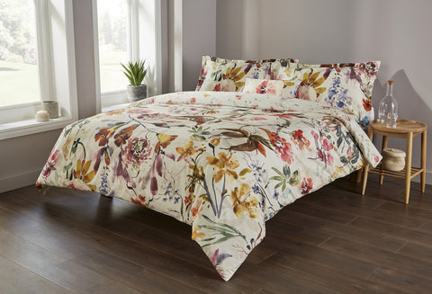 "Christy Spanish Range ""Katrina"" Bed Linen - Colour Multi"