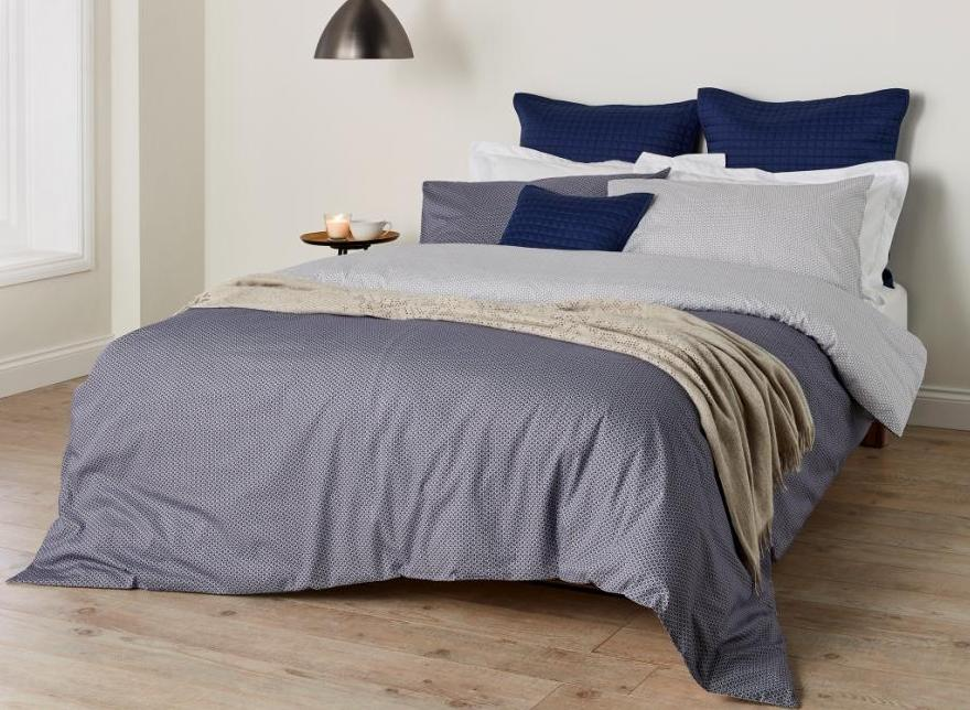 "Christy ""Kimono"" Bed Linen - Colour Midnight"
