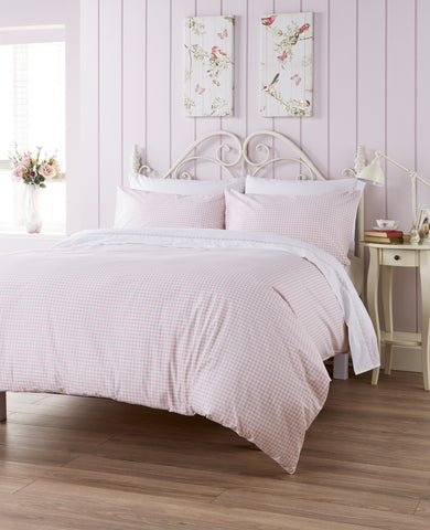 "Ditton Hill ""Kitty"" Bed Linen - colour Soft Pink"