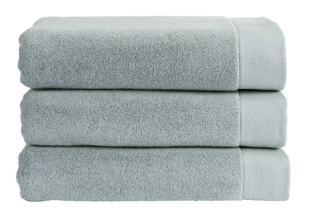"Christy ""Luxe"" Bath Towels Collection in Surf Green"