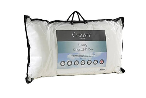 Christy Luxury Microfibre King Pillow 50 x 90cm