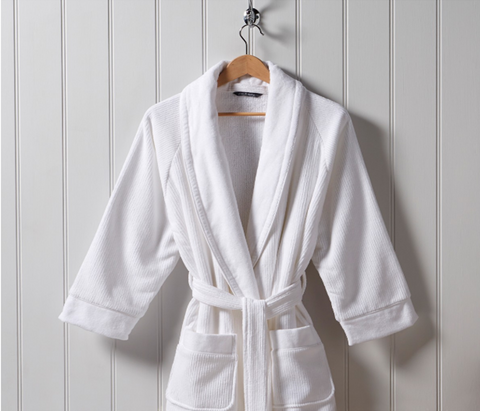 "Christy ""Luxury Egyptian"" Bath Robe in White"