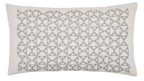"Murmur ""Nova"" Cushion in Cloud Grey"
