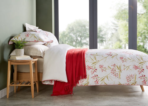 "Christy ""Malverley"" Duvet Cover Sets in Colour Red"