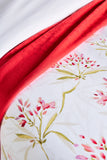 "Christy ""Malverly"" Duvet Cover Sets in Colour Red"