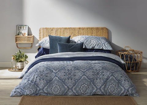 "NEW! - Christy ""Marrakesh"" Duvet Cover Sets in Blue Colour"