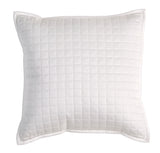 "Christy ""Metropolitan"" Throw, Euro Shams and Cushion - colour White"