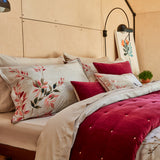 "Christy ""Nara"" Bed Linen - Colour Pink"
