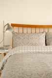 "Kingsley ""Penang"" Duvet Cover Sets in Pebble Colour"