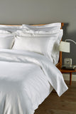 "Christy Premium ""900 Thread Count Picot"" Bed Linen in Colour White"
