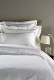 "Henry Christy ""900 Thread Count Picot"" Bed Linen - in White"