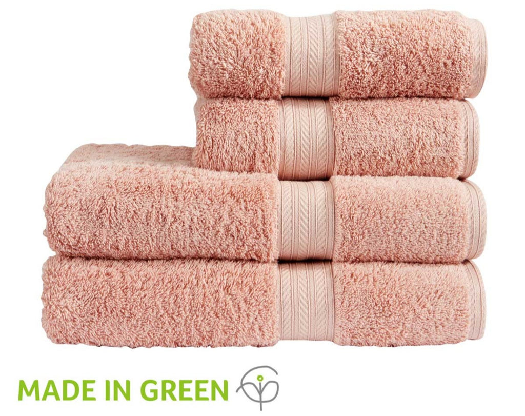 "Christy ""Renaissance"" Egyptian Cotton Towels Collection in Peony"