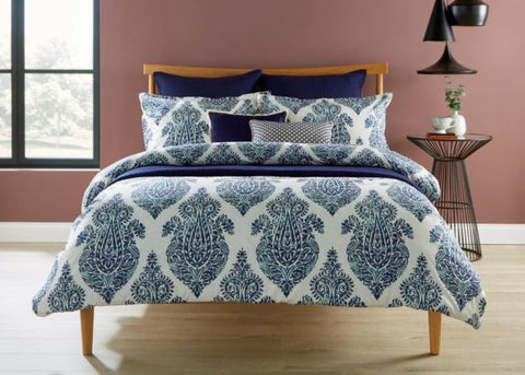 "Christy ""Siam"" Bed Linen - Colour Indigo"
