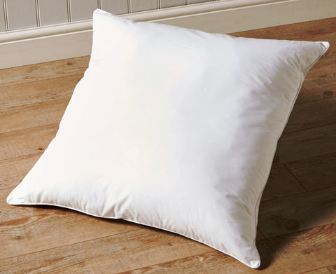 "Christy ""Superior European"" Down-Surround Square Pillow 65x65 cm, Made in Denmark"