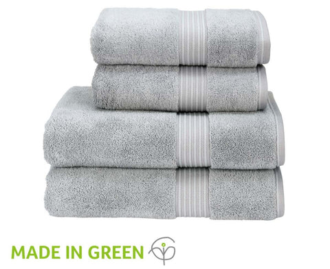 "Christy ""Supreme"" Bath Towels & Mat Collection in Silver"