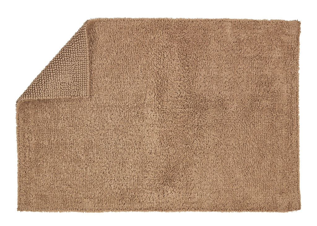 "Christy ""Reversible Bath Rug"" in Mocha Colour"