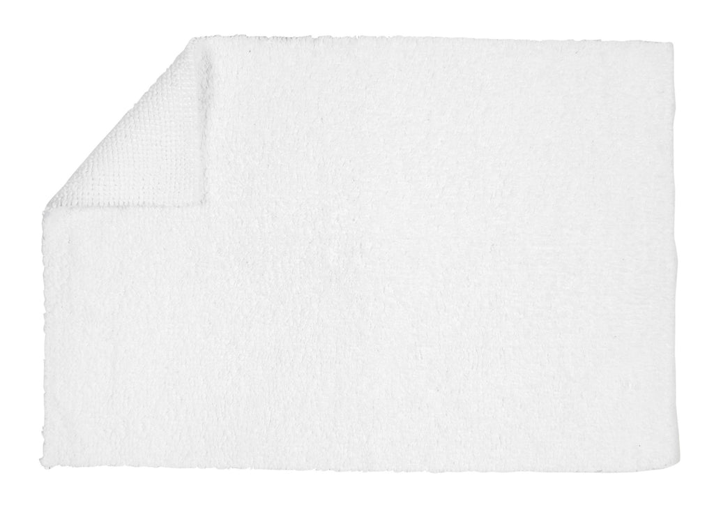 "Christy ""Reversible Bath Rug"" in Cream (Almond)"