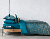 "Christy ""Urbis"" Bed Linen - Colour Peacock"