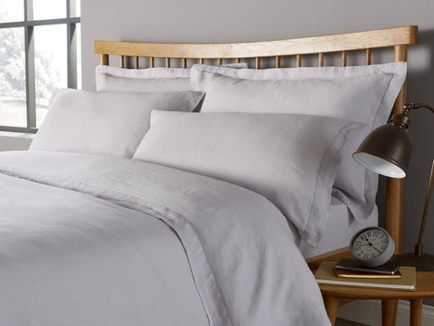 "Christy ""Belgian"" Bed Linen - Silver"