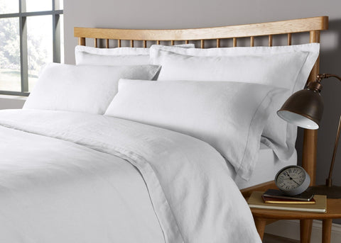 "Christy ""Belgian"" Bed Linen - White"