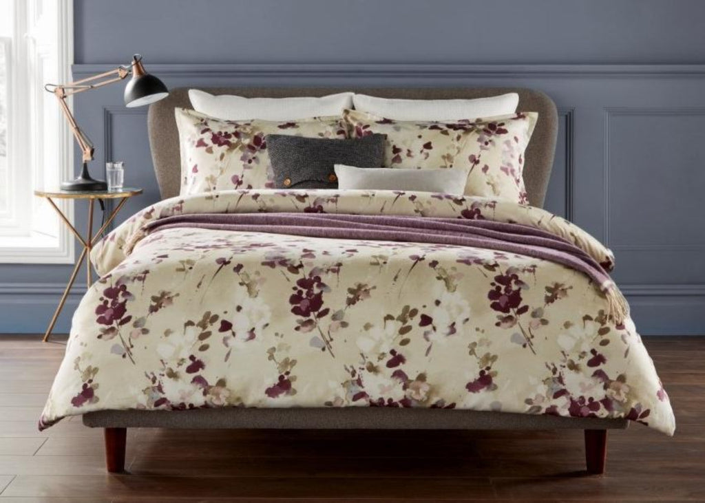 "Christy ""Yves"" Bed Linen - Colour Fig"
