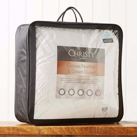 "Christy ""Goose Feather & Down"" Duvet"