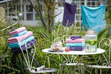 "Christy ""Supreme"" Towel and Bath Mat Collection in Thistle"
