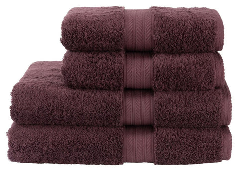 "Christy ""Renaissance"" Towel and Bath Mat Collection in Fig"