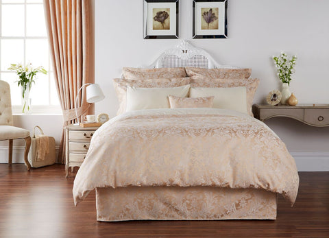 "Christy ""Sicily"" Bed Linen - colour Gold"