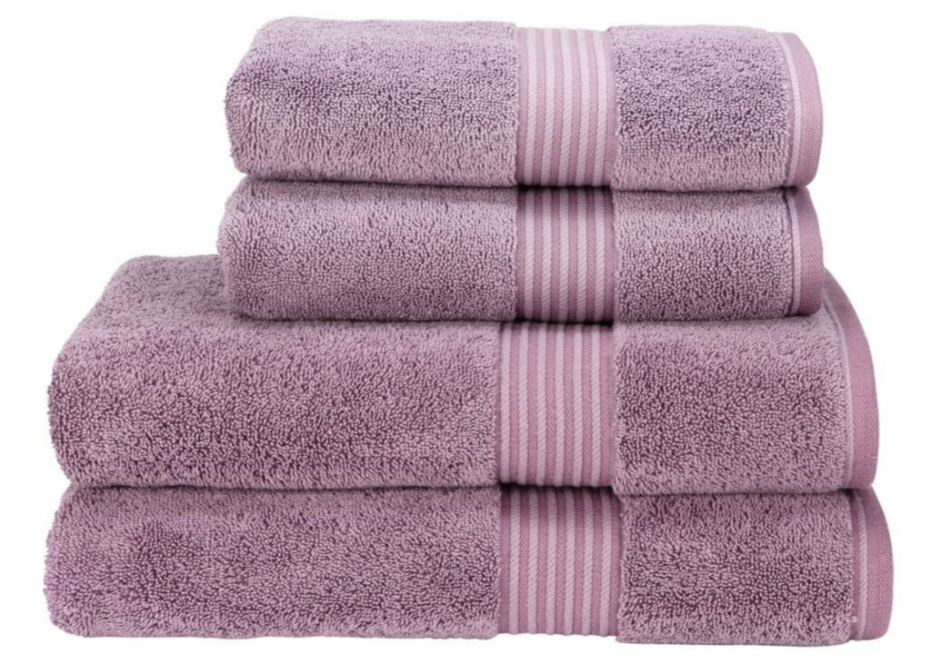 "Christy ""Supreme"" Towel and Bath Mat Collection in Damson"