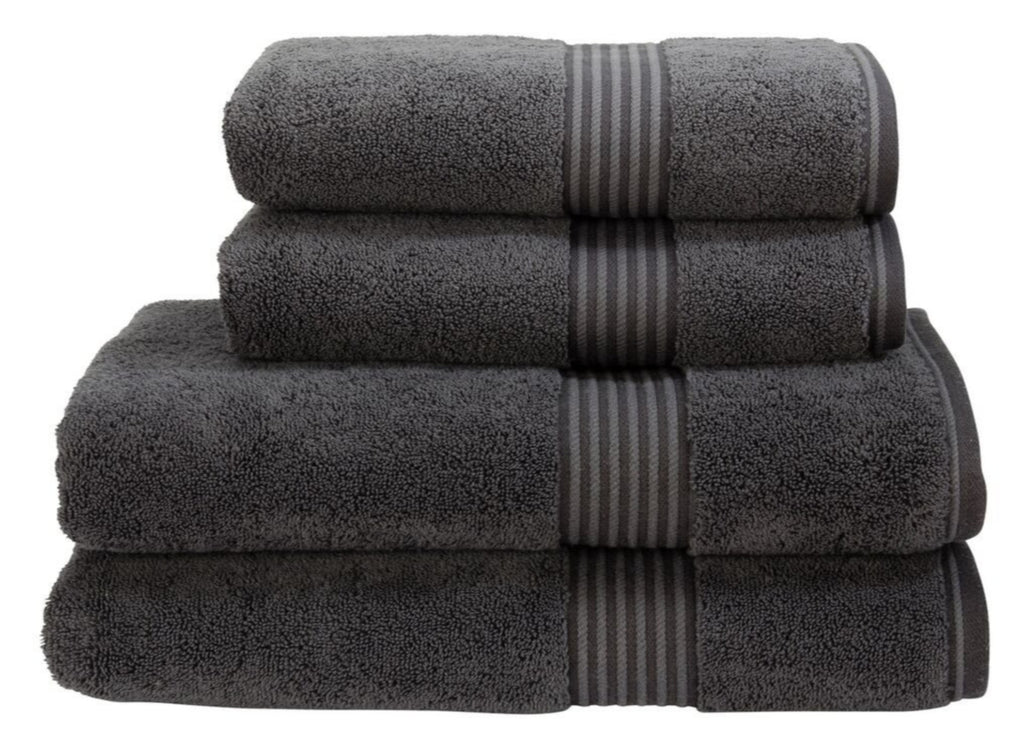"Christy ""Supreme"" Towel and Bath Mat Collection in Graphite"