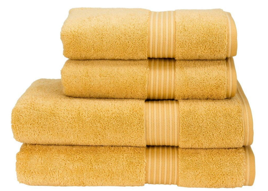 "Christy ""Supreme"" Towel and Pedestal Mat in Honey LIMITED SIZES ONLY!"