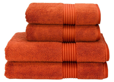 "Christy ""Supreme"" Towels & Bath Rugs in Paprika LIMITED SIZES ONLY"