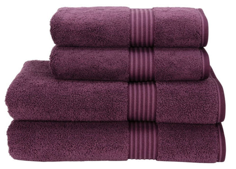 "Christy ""Supreme"" Towels & Bath Rugs in Plum LIMITED SIZES ONLY"
