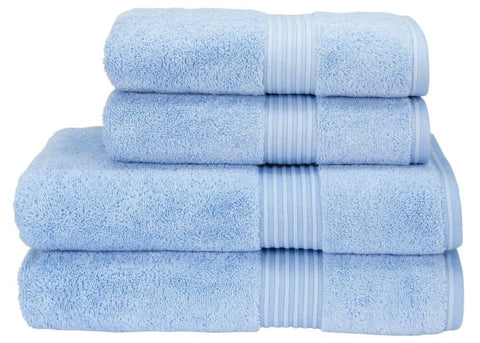 "Christy ""Supreme"" Towels & Bath Rug in Sky LIMITED SIZES ONLY"