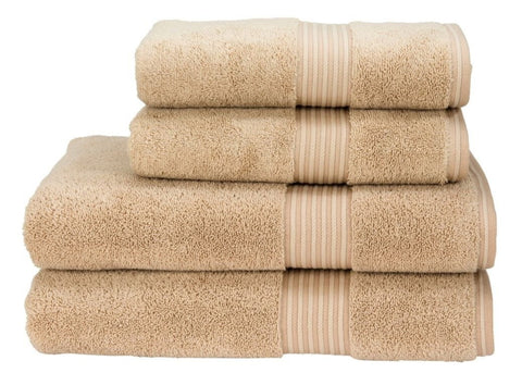 "Christy ""Supreme"" Towel and Bath Mat Collection in Stone"