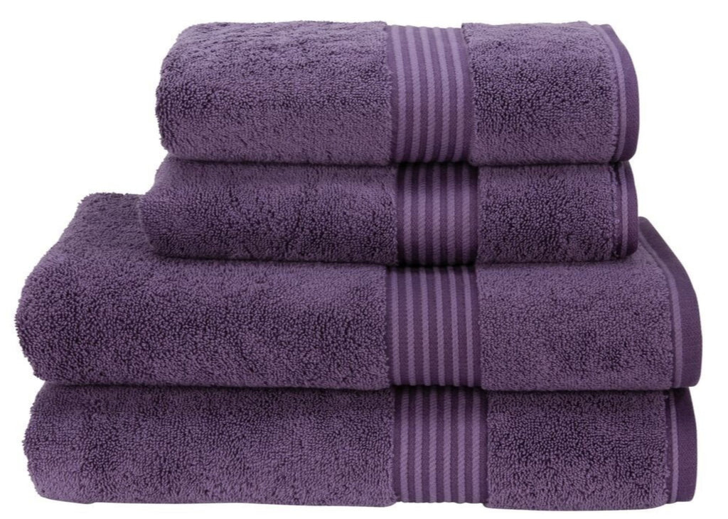"Christy ""Supreme"" Towels in Thistle LIMITED SIZES ONLY"