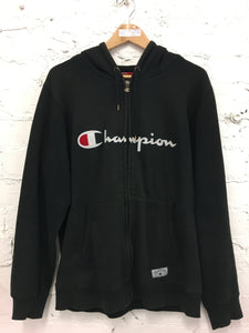 Vintage Champion Spellout Hoodie