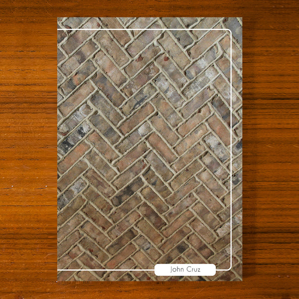 Brick Design Printed Journal B03