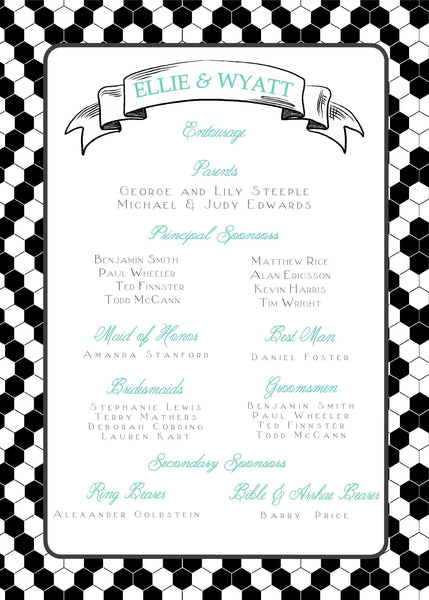 "5""x7"" Wedding Invitation WI-29"